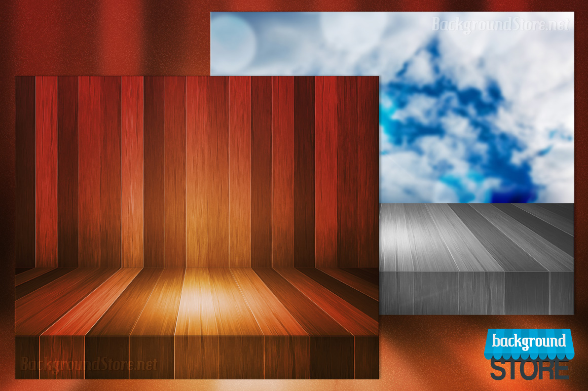 wood stage - photo #12