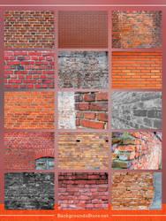 Bricks Images Set