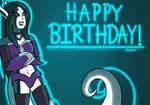 Happy Birthday Digitallyfanged!!! by VickySensei3719