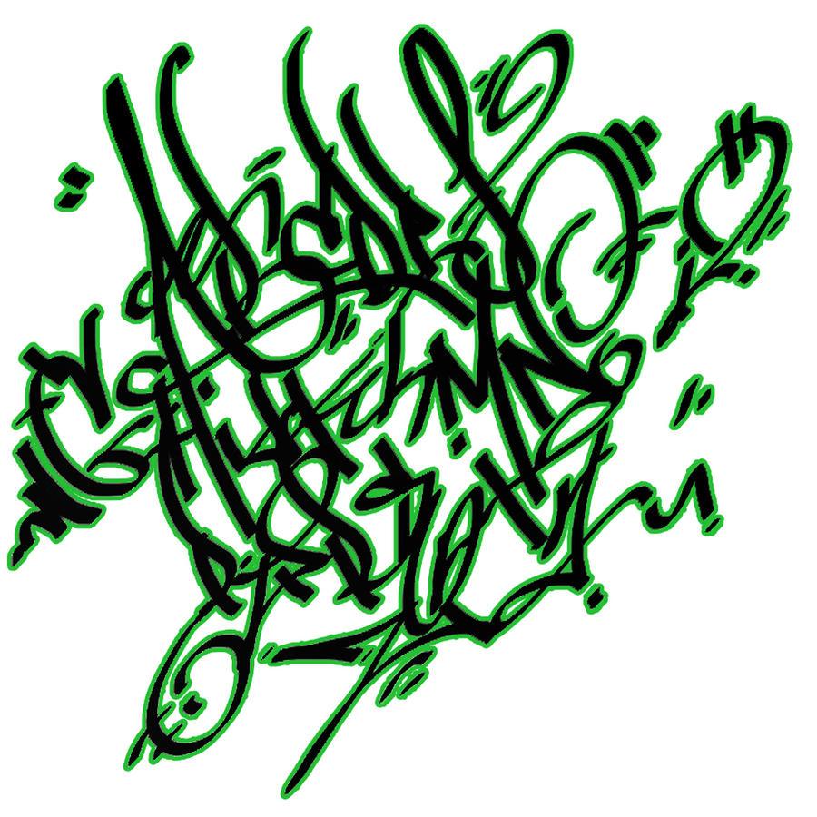 Graffiti alphabet by tronefp digital art drawings paintings graffiti