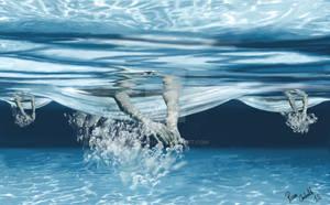 Debajo del agua F