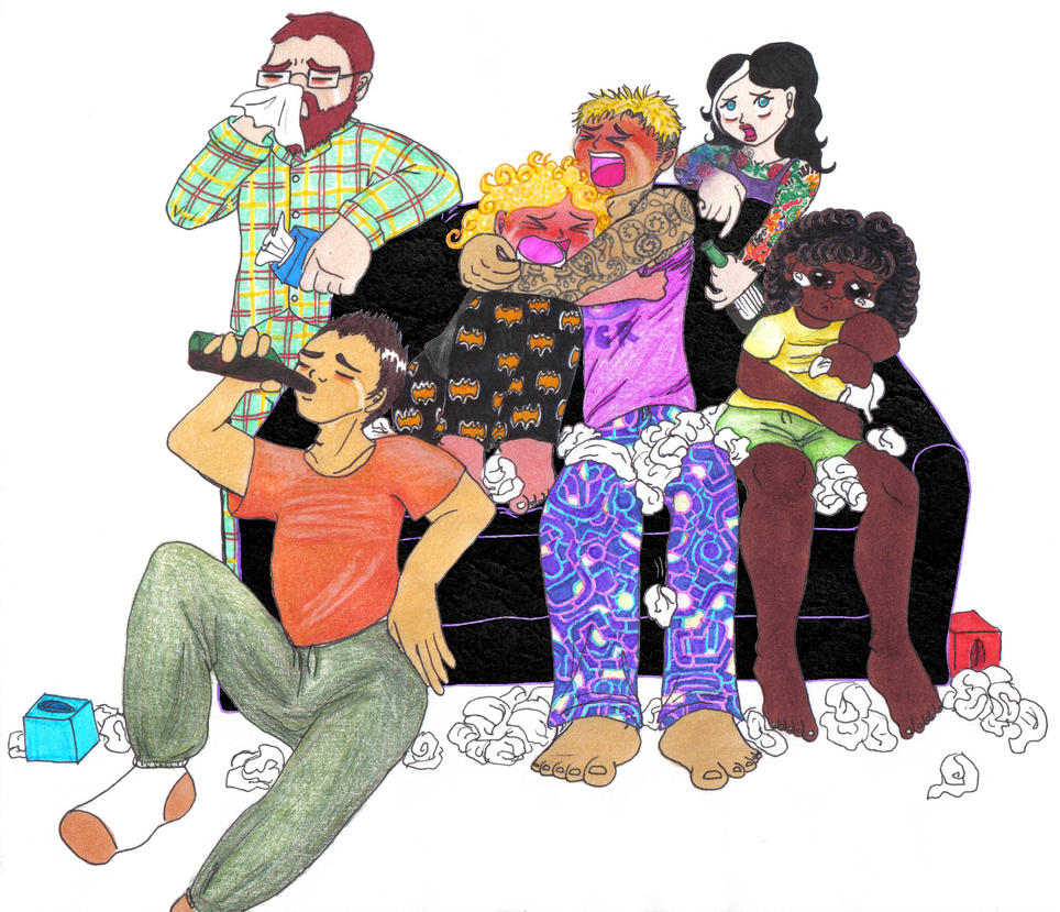The saddest slumber party ever by yokogreyword