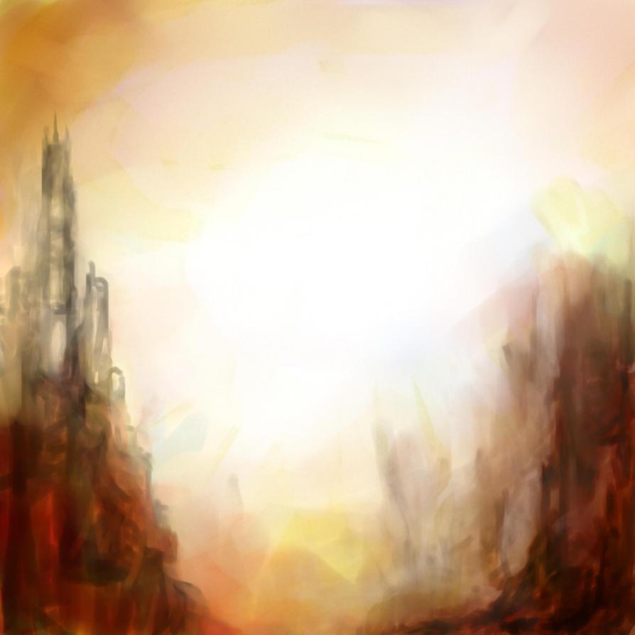 A place to set my gaze by thomaskinsella