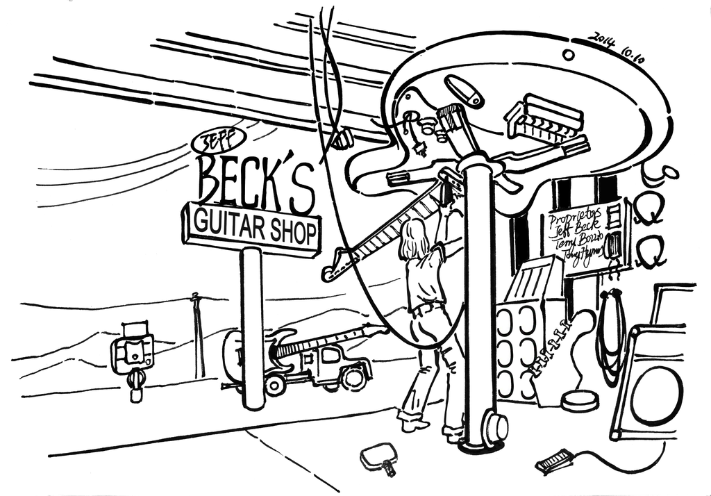 Jeff Beck Guitar Shop