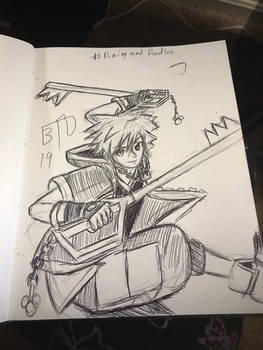 DD: Sora Kingdom Hearts 3 - quick sketch