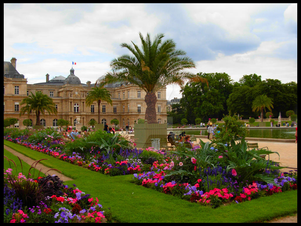 Paris jardin du luxembourg 2 by kenjinapics on deviantart for Jardins a visiter a paris