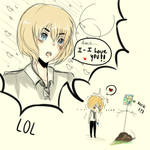Armin I-I love youu