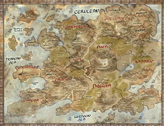 map of the world of ravine by wanderers-of-ravine