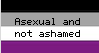 Asexual Stamp by SuperiLoveCartoons