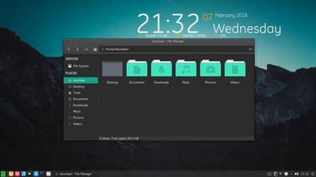 Manjaro Linux by duschaan