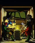 Bandit Marshmallow Toasting Night