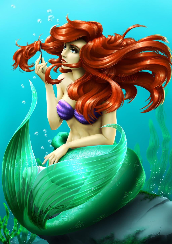 Ariel (The Little Mermaid) by Alyoxy on DeviantArt