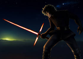 Kylo Ren/Ben Solo by Alyoxy