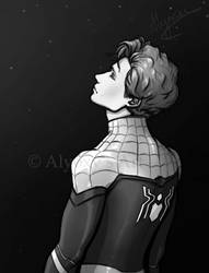 Spider-Man/Peter Parker by Alyoxy