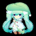 Yuki Miku - Free page doll!