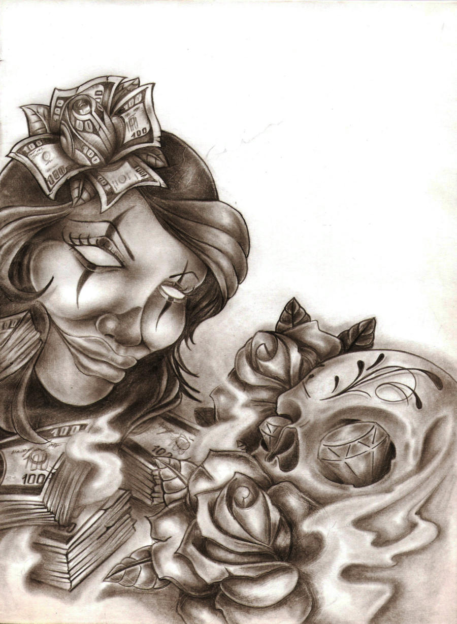 Chicano by ibraink on deviantart for Chicano tattoo art