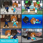 Rens Comics 48 - Competitive Friends
