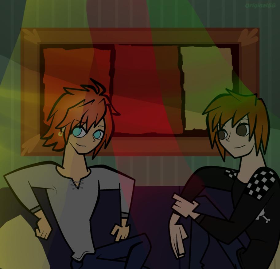 Alex y Oliver! by Mortyn