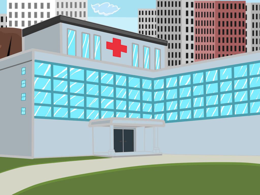 Hospital by Mortyn