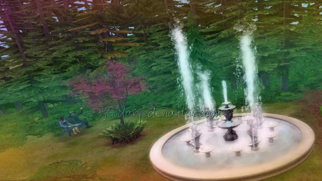 Custom Made Fountain in The Sims 2 by DjGodary