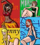 Hogwarts Mystery Girls