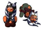 Some more Ahsoka sketches