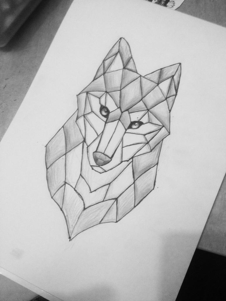 Simple wolf tattoo by MineaAmanda on DeviantArt