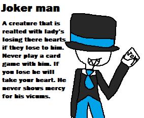 Joker man by RosetheSeedrian