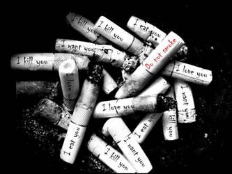..Don't smoke Baby.. by KissMeAgainKitty