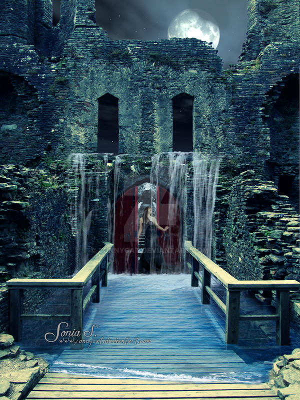 Behind The Crimson Door by SonnyCat ... & Behind The Crimson Door by SonnyCat on DeviantArt