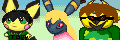 Me,Toby And Ciara's Pokemon Mistyery DunGeon Icon by Metylover2143