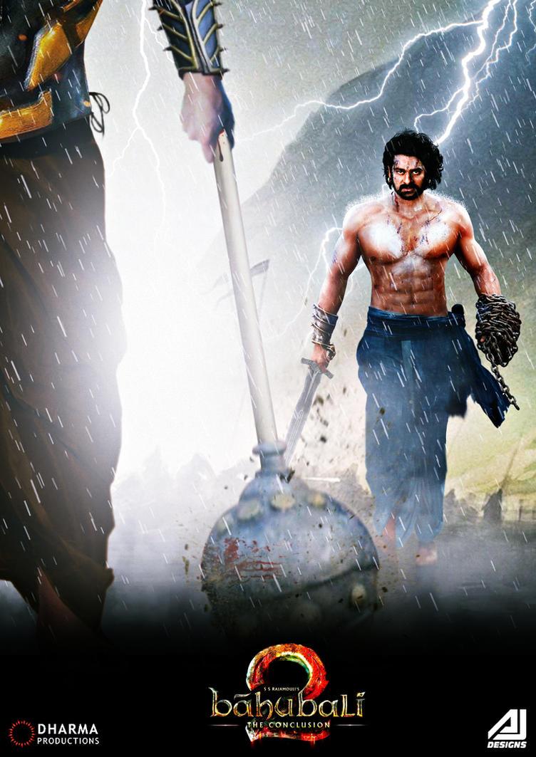 bahubali 2 poster ft. prabhasajay02 on deviantart