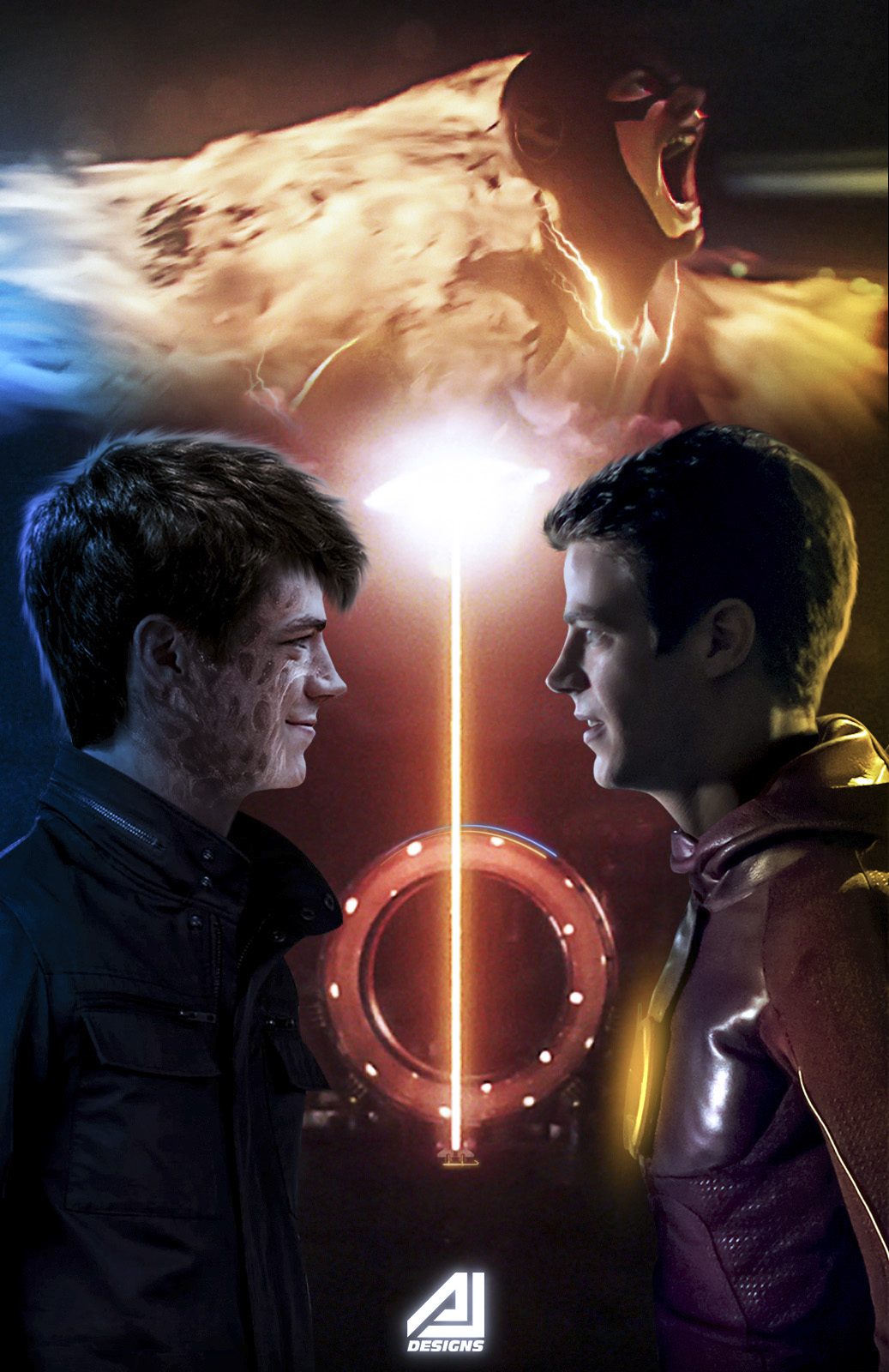 Future Flash (Savitar) Face To Face The Flash by ajay02 on ...