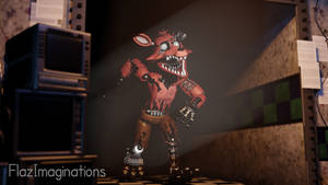 Withered Foxy in the Hall