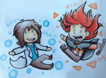 Jekyll and Hyde chibis
