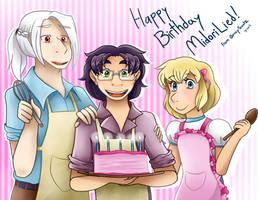 Happy Birthday Midorilied! by QuincySoulz