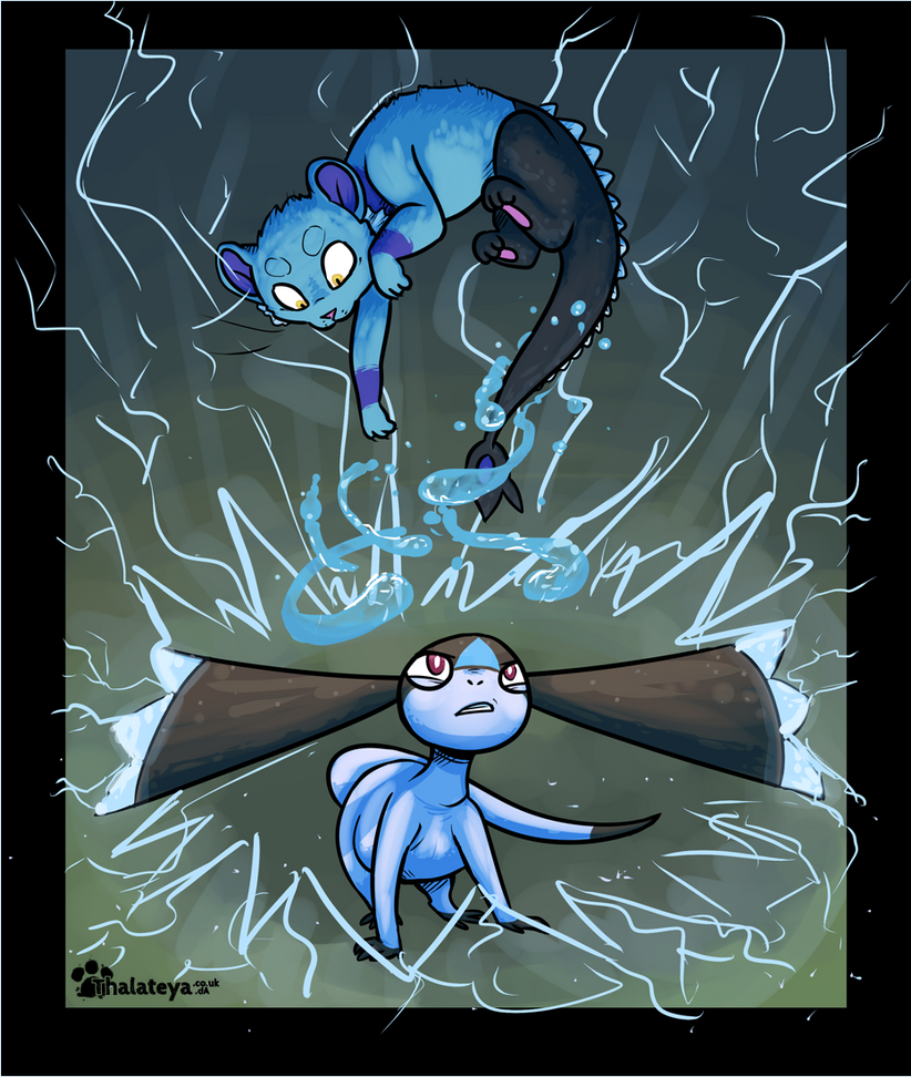 PKMNN - Blue Thunderstorm ( Terek vs. City ) by Thalateya