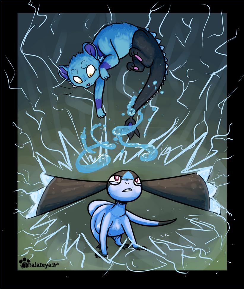 PKMNN - Blue Thunderstorm ( Terek vs. City ) by Thalateya