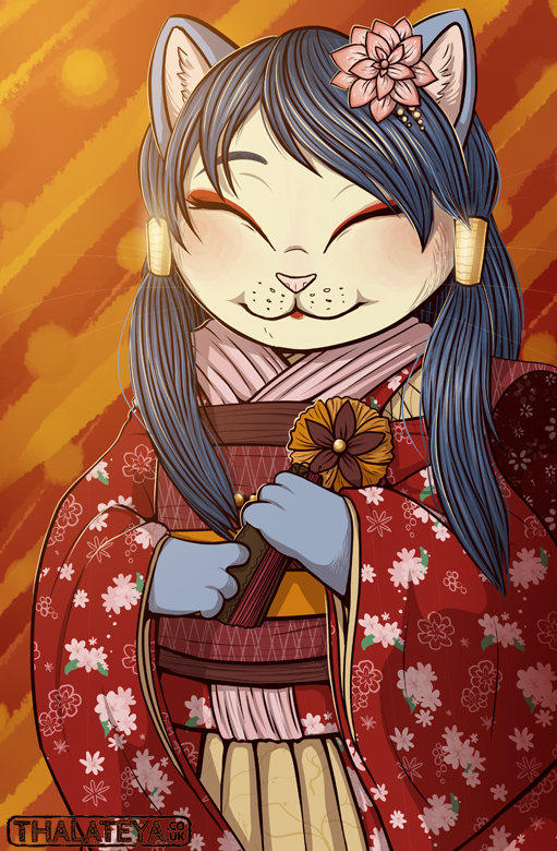 CR - Kimono Kitty... MARK TWO by Thalateya