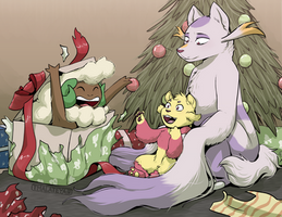 AZ - Harris' First Christmas by Thalateya