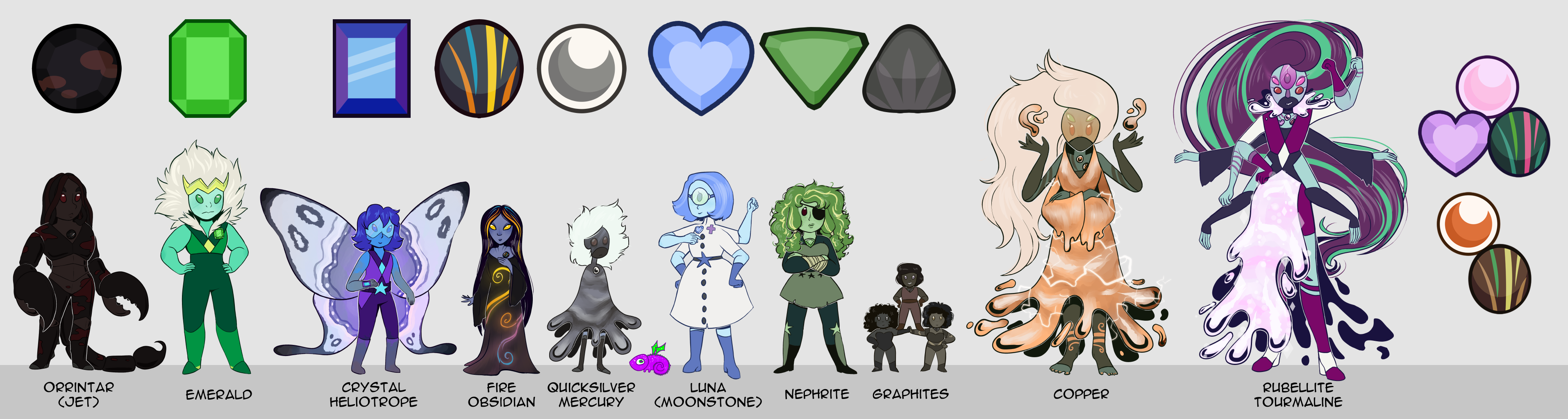 DW - Gem Lineup by Thalateya