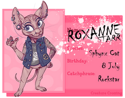 Creature Crossing: Roxanne by Thalateya