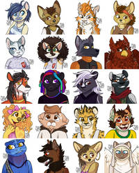 DD Portraits: Cat-Run by Thalateya