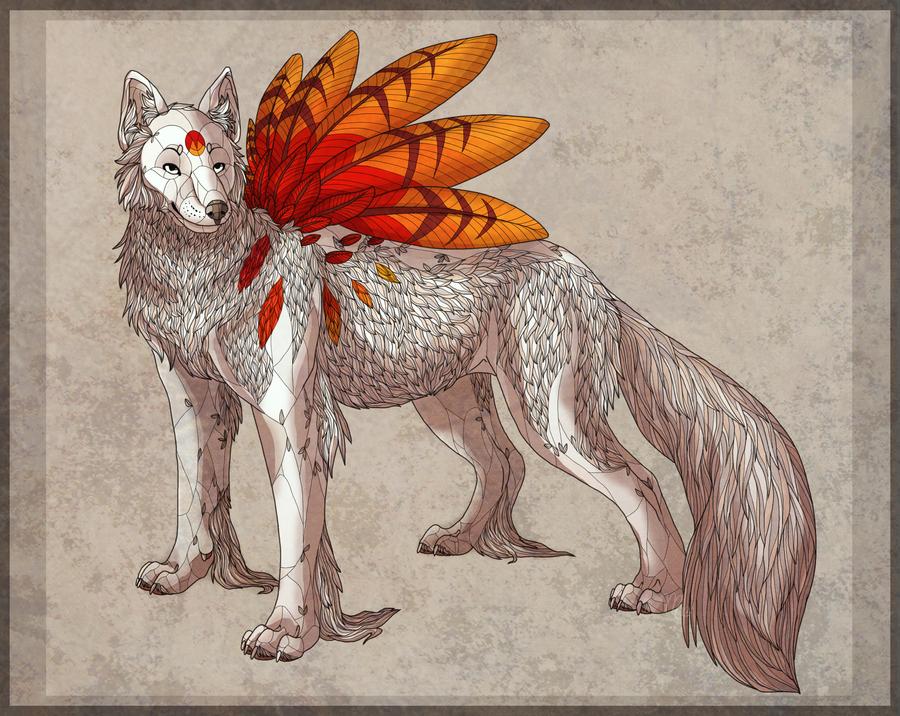 Scarlet Sunrise by Aki-the-wolf