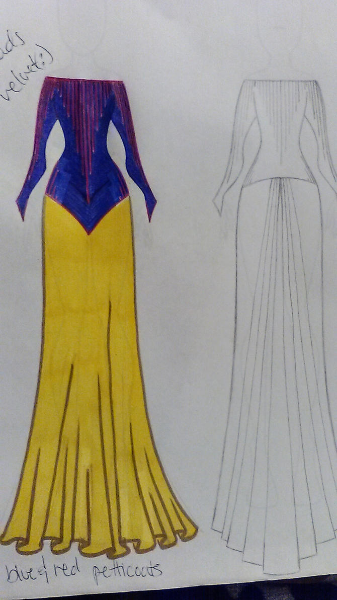 Snow White Redesign by GrimmFashions