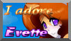 351 Stamp - ''I adore Evette'' by TheLazyAuthor