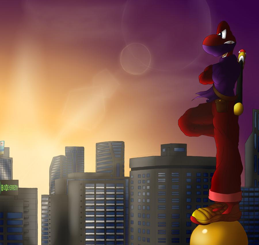 Urban Ninja's Early Surveillance by TheLazyAuthor