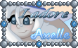 Cute Tuft Stamp - ''I Adore Axelle'' by TheLazyAuthor