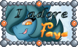 Cute Tuft Stamp - ''I adore Faye'' by TheLazyAuthor
