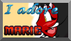 Hyooge Stamp - ''I adore Marie'' by TheLazyAuthor
